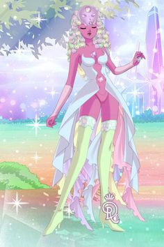 Temple Fusion ~ Steven Universe ~ by DysMalLexia ~ Sailor Moon Dress Up