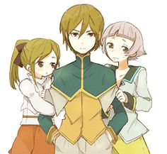Jade, Dist & Nephry as children - Tales of Abyss