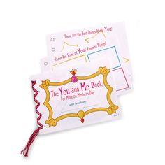 Mother's Day Craft: The You and Me Book (Mother's Day Gift Idea) | Spoonful