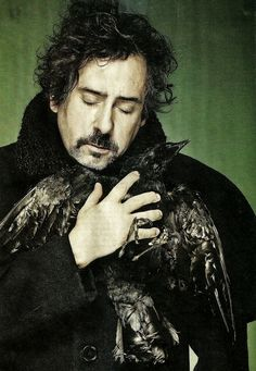 Tim Burton~ not really a good looking guy but I love his work! Totally amazing!