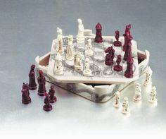 Chinese Military Chess Set