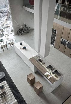 "life1nmotion: ""Modern, minimalist and industrial style. """