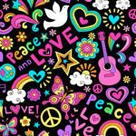 1960s,back to school,background,bird,butterfly,cool,cute,decoration,decorative,doodle,dove,dove of peace,drawing,education,embellishment,fun,groovy,groovy pattern,guitar,hand drawn,heart,hippie,illustration,love,mushroom,music,pattern,peace,peace and love,peace sign,psychedelic,rainbow,repeat,retro,school,seamless,seamless background,seamless pattern,seamlessly,seventies,sixties,star,star burst,starbursts,teen,tiling,tween,wallpaper,wrapping paper