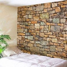 Free shipping 2018 Natural Stone Brick Print Wall Hanging Tapestry BROWN W INCH L INCH under $18.43 in Wall Tapestries online store. Best Printed Throw Blanket and 3d Floor Wall for sale at Dresslily.com.