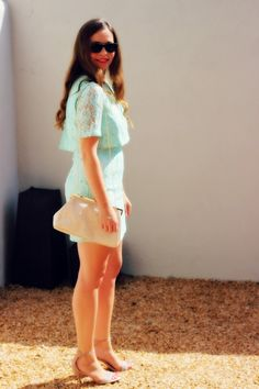 www.reservedforruby.com Shoulder Dress, Mint, My Style, Gold, Beauty, Dresses, Fashion, Vestidos, Moda