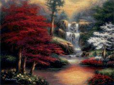 водопад, предпросмотр