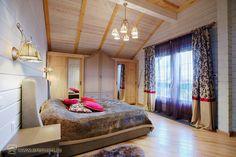 Дом в стиле прованс, спальня