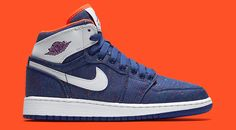 Air Jordan 1s Get a Denim Makeover