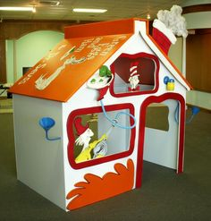 Dr. Seuss house, Ms Ashley needs to build another house! lol