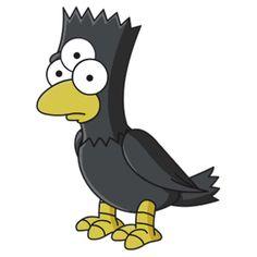 Bart Simpson - Three-Eyed Raven by Thomas Erlandsen
