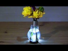 Mit diesem Trick machst du in 5 Minuten aus einer Glühbirne eine Blumenvase.