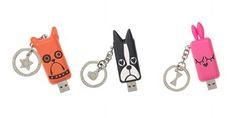Animal flash drives by Marc Jacobs. Fun gift!