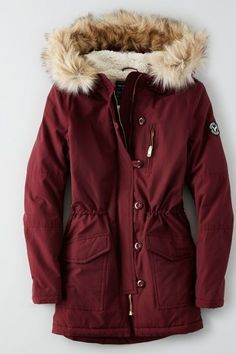 American Eagle Outfitters AEO Long Parka