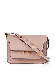 Trunk Mini leather shoulder bag | Marni | MATCHESFASHION.COM
