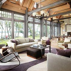 Lake House Retreat by Morgante Wilson Architects