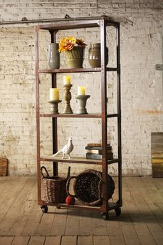 Kalalou Wire Wall Storage Baskets With Hooks. A Stand Out In The Mudroom!  Three Connected Wire Baskets With A Nifty Top Shelf Sport Three Tagged Meu2026