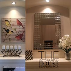 Entryway transformation before & after Home Staging, Entryway, House, Home Decor, Entrance, Decoration Home, Home, Room Decor, Door Entry