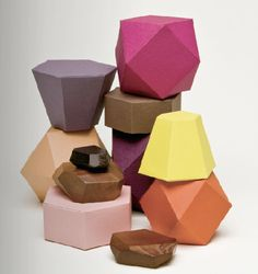 paper polygons from Make: Craft