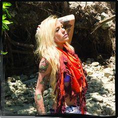 Tribll Unisex Scarf in Orange Ombre. #tribull #tribullscarves #scarf #love #fashion #ombre #orange #bohemian #tribal