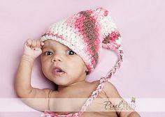 Elf Hat with Long Braided Tasssel by Salena Baca