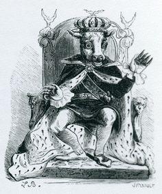 Demon Moloch from Collin de Plancy's 'Dictionnaire Infernal' (Louis Le Breton).