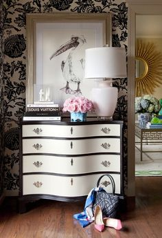 Feminine Entryway | Photo Gallery: Tobi Fairley Interiors | House & Home | Photo by Nancy Nolan