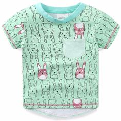 >> Click to Buy << 2017 Summer Kids Boys T Shirts Short Sleeves child T-shirts 100% Cotton Top Tees Cartoon Rabbit Boys Clothes Kid T-Shirt #Affiliate