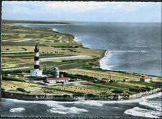 Pointe et phare de Chassiron - Ile d'Oléron vintage, Charente-Maritime, France