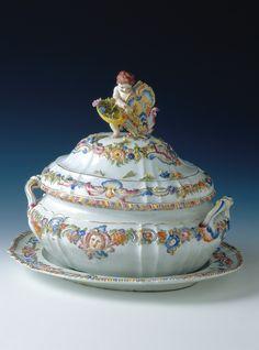 Ceramics - Tureen   #TuscanyAgriturismoGiratola