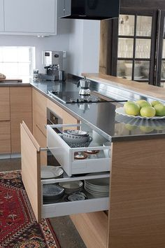 Premium stainless steel worktops - Stala Tailor-made Nordic Kitchen, Ikea, Stainless Steel, Home Decor, Style, Swag, Decoration Home, Ikea Co, Room Decor