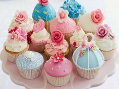 Il mondo ecobio di Sara: Regalo di Natale: i cupcakes da bagno fai da te