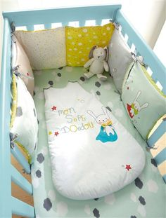 Bedding Sets Charitable 3 Pieces Lovely Baby Bedding Set Giraffe Bedding Set For Baby Cot Sheets Cuna Baby Bumper Ropa De Cuna Kit Berco