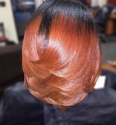 STYLIST FEATURE  Color crushing on this #haircolor and #silkpress done by…