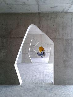 Galeria - Escola Secundária ES/EB3 Braamcamp Freire / CVDB arquitectos - 14