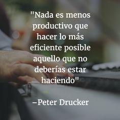 #frases sobre #productividad