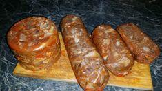 Boros Valéria: Disznósajt Homemade Sausage Recipes, Charcuterie, Ham, The Cure, Bacon, Food, Diet, Hams, Essen