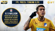 Currently owned by 6.2% of #FPL managers, Firmino is being overlooked by 94 in every 100 players. Not without reason.