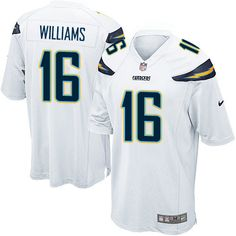 Men s Nike Los Angeles Chargers  16 Tyrell Williams Game White NFL Jersey  Men s Football cc013462f