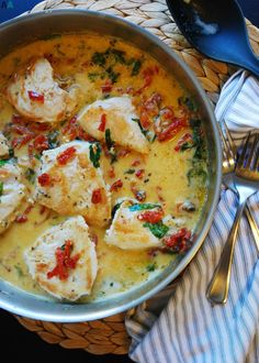 30 Minute Dairy-Free Creamy Tuscan Chicken (GF, DF, Egg, Soy, Peanut, Tree nut Free, Top 8 Free) Recipe by AllergyAwesomeness.com