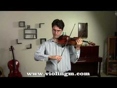 Developing better violin fingers - Exercises for the bow hand