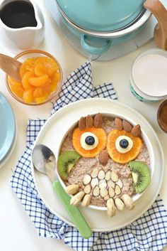 Not only can you serve your kids a fun owl-shaped breakfast but this Grain Free…