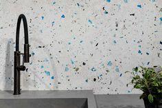 Artwork - Terrazzo Look Tiles Terrazzo, Terrazo Flooring, Work Surface, Kitchen Tiles, Doorway, Cladding, Wall Tiles, Interior And Exterior, Memphis