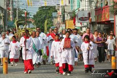 Easter's Traditional Religious Celebrations in San Pedro, Ambergris Caye, Belize.
