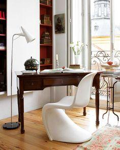 Mezcla de estilos, mueble antiguo- diseño s.XX