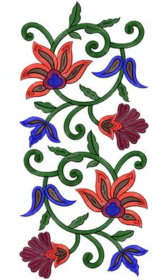 Border Embroidery Designs, Machine Embroidery Patterns, Lace Embroidery, Brazilian Embroidery Stitches, Hand Painted Sarees, Kalamkari Painting, Tie Dye Crafts, Embroidery Hoop Crafts, Hand Embroidery Stitches