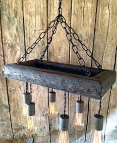 Items similar to Mason Jar Chandelier - Mason Jar Lighting - Mason Jar Fixture- Edison Bulb Chandelier-Reclaimed Wood- Upcycled Wood on Etsy Edison Bulb Chandelier, Edison Lampe, Mason Jar Chandelier, Wood Chandelier, Outdoor Chandelier, Edison Lighting, Mason Jar Lighting, Rustic Lighting, Home Lighting
