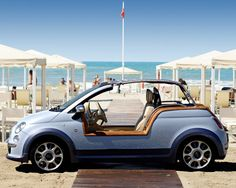 Opt to arrive and depart the ultimate hotel in an electric fiat beach buggy! #rethink_hotels