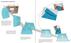 How to Make a Pleated Skirt by DIY Couture