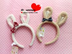 10 yuan cute bunny rabbit ears headband catoys.taobao