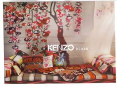 Kenzo home collection - Great inspiration for my textile designs ...